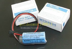NEW Mitsubishi lithium battery with plug GT15-BAT 3V for industry use