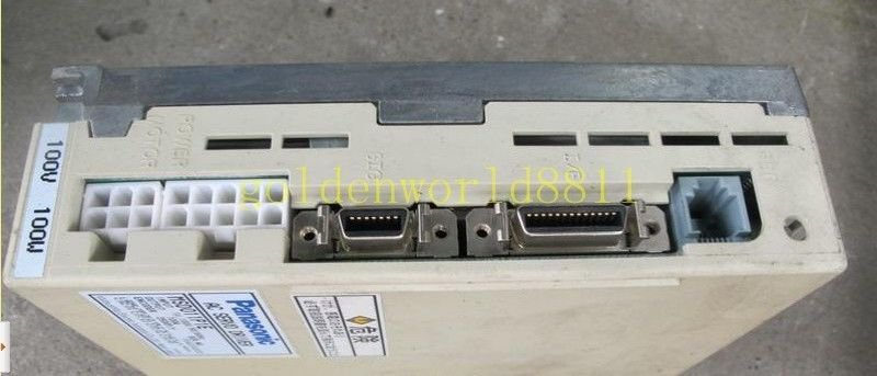Panasonic AC server driver MSD011P1E good in condition for industry use