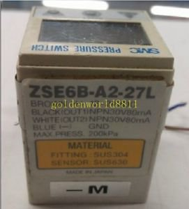 SMC Pressure sensor ZSE6B-A2-27L good in condition for industry use