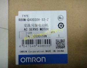 NEW OMRON servo motor R88M-G40030H-S2-Z good in condition for industry use
