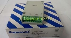 NEW Panasonic PLC Thermocouple Plug-in unit AFPX-TC2 for industry use