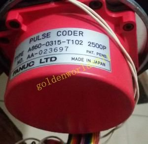 FANUC motor encoder A860-0326-T102 good in condition for industry use