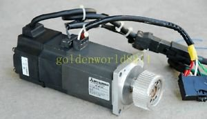 USED Mitsubishi servo motor HC-MF43B good in condition for industry use