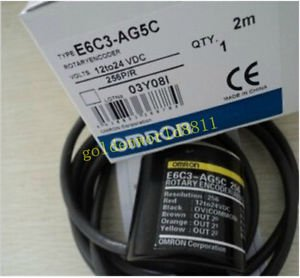 NEW Omron rotary encoder E6C3-AG5C 256P/R good in condition for industry use
