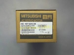 NEW Mitsubishi AC Servo Motor HC-KFS053K good in condition for industry use
