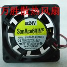 NEW SANYO fan for FANUC A90L-0001-0423#105S(9WF0624H7D04)6015 24V 0.12A warranty