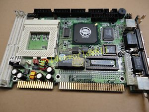Half-length IPC board AR-B1578 V1.1 with CPU memory for industry use