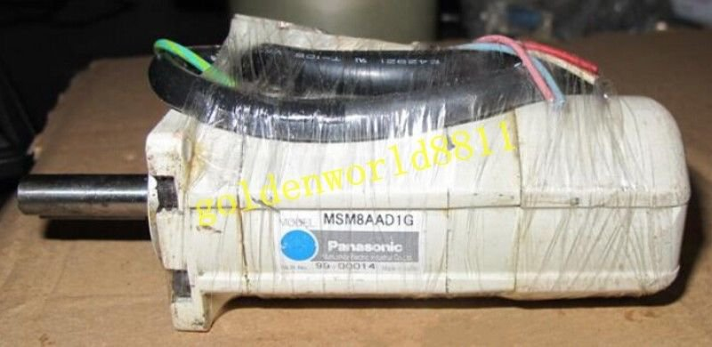 Panasonic servo motor MSM8AAD1G good in condition for industry use