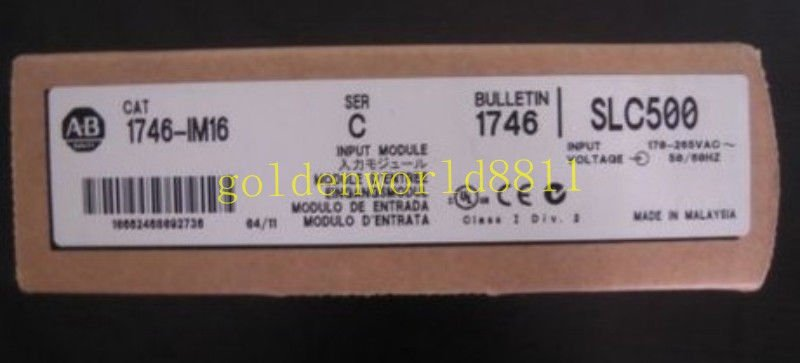 NEW AB Digital input module 1746-IM16 good in condition for industry use