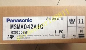 NEW Panasonic servo motor MSMA042A1G good in condition for industry use