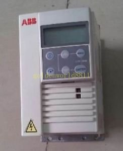 USED ABB INVERTER ACS 143-1K6-3-C 380v 0.75KW good in condition for industry use