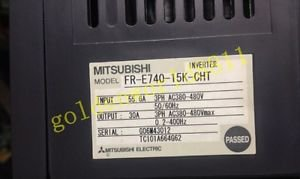 Mitsubishi inverter FR-E740-15K-CHT 380V 15KW good in condition for industry use