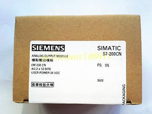NEW�Siemens analog output module EM232 6ES7 232-0HB22-0XA8 6ES7232-0HB22-0XA8