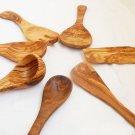 Olive Wood Utensil Set / Wooden Kitchen Utensils / Spatula Ladle Spoon Salad Set