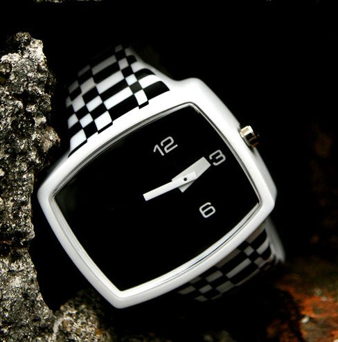 Lucid Fall Checkers Unisex TV Watch