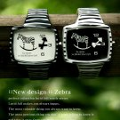 Lucid Fall Zebra Unisex TV Watch