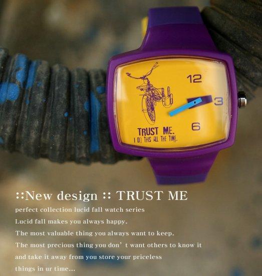 Lucid Fall Trust Me Unisex TV Watch