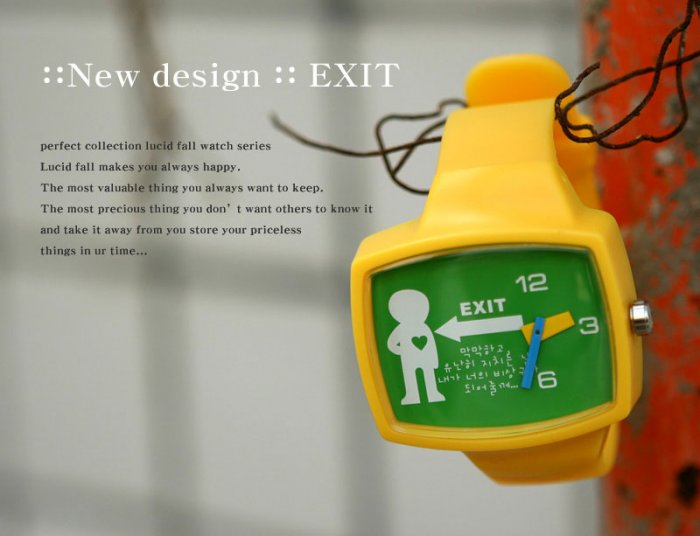 Lucid Fall Exit Unisex TV Watch