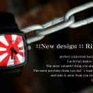 Lucid Fall Rising Sun Unisex TV Watch