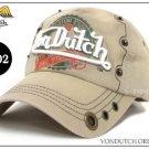 Von Dutch Cap With Emb. Signature Logo Trucker Hat