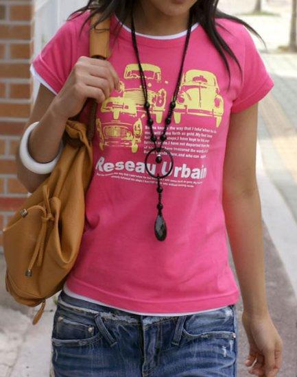Reseau Urbain Printed Short Sleeve T-shirt For Women