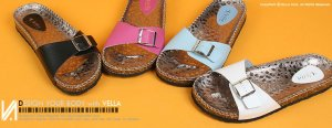 Vella Original Leather Madrid Women's Rain Slide