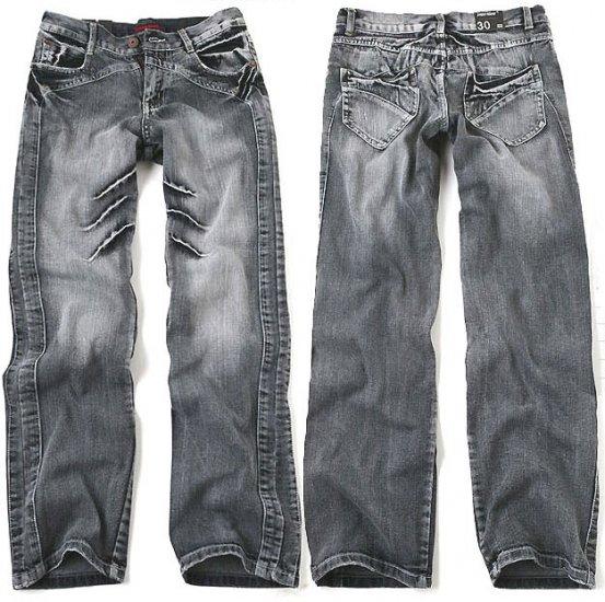 Semi Straight Premium Denim Jeans For Men