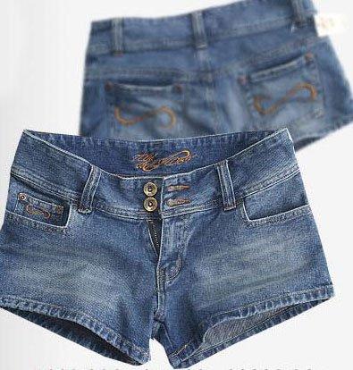 Tom & Ashley Premium Denim Jeans Women's Short