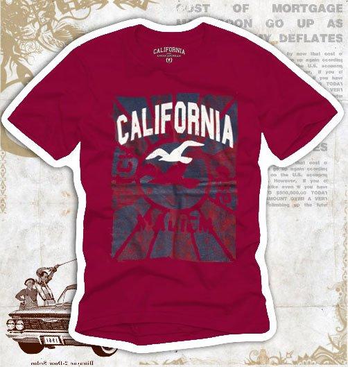 California Hollywood Vintage Style Men's T-shirt