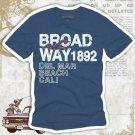 """BROADWAY 1892"" Hollywood Vintage Style Men's T-shirt"