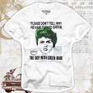 """Boy with Green Hair"" Hollywood Vintage Style Men's T-shirt"