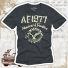 """""""AE 1977"""" Hollywood Vintage Style Men's T-shirt"""