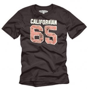 """California 65"" Hollywood Vintage Style Men's T-shirt"