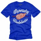 """Superday Fireblades"" Hollywood Vintage Style Men's T-shirt"