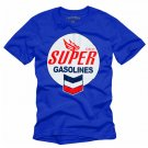 """SUPER Gasolines"" Hollywood Vintage Style Men's T-shirt"