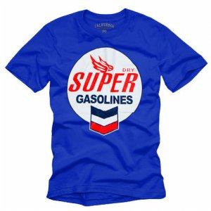 """""""SUPER Gasolines"""" Hollywood Vintage Style Men's T-shirt"""