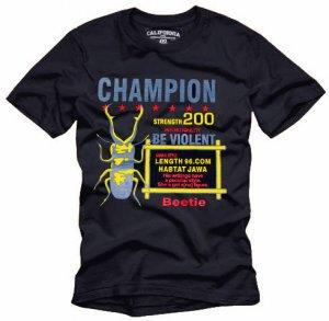 """CHAMPION"" Hollywood Vintage Style Men's T-shirt"