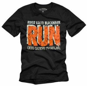 """RUN"" Hollywood Vintage Style Men's T-shirt"