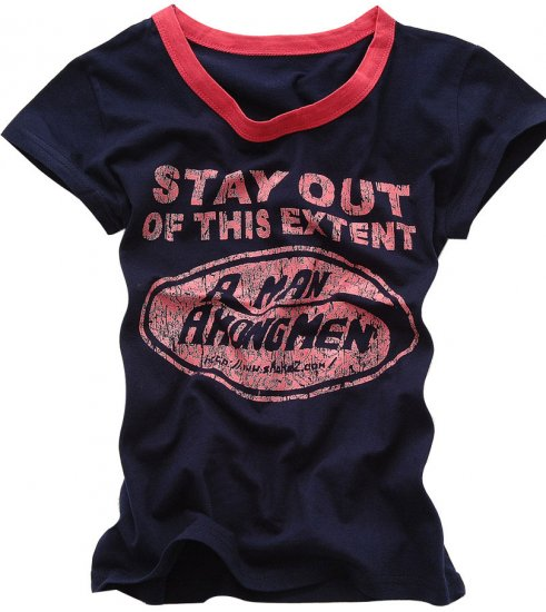 """Stay Out"" New York Style Women's T-shirt"