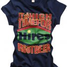 """Hires Root Beer"" New York Style Women's T-shirt"