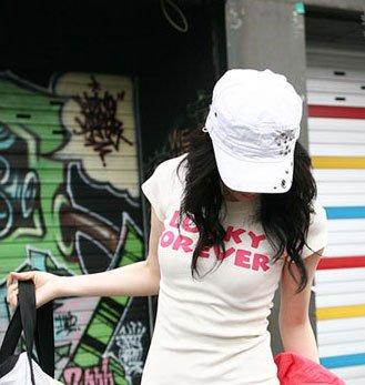 """""""Lucky Forever"""" New York Style Women's T-shirt"""