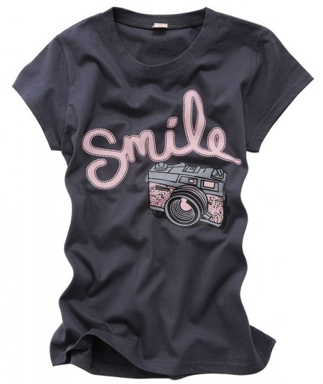 """Smile Camera"" New York Style Women's T-shirt"