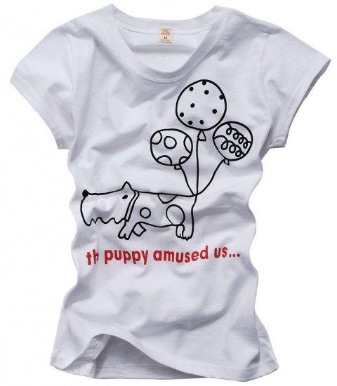 """Puppy"" New York Style Women's T-shirt"