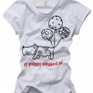 """Puppy"" New York Style Women's T-shirt"