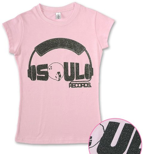 """""""Soul Records Pearl"""" Hollywood Vintage Style Women's T-shirt"""