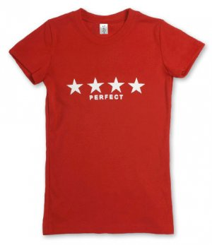 """""""Perfect"""" Hollywood Vintage Style Women's T-shirt"""