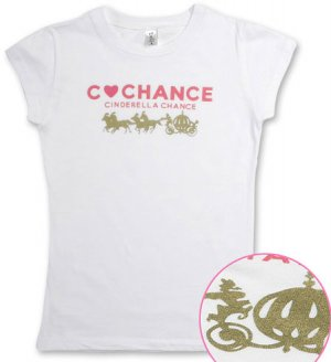 """Cinderella Chance"" Hollywood Vintage Style Women's T-shirt"