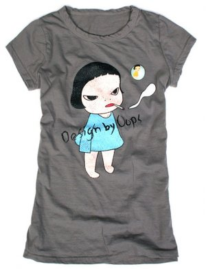 "Artist Yoshitomo Nara's Artwork ""Too young to die"" T-shirt for Women"