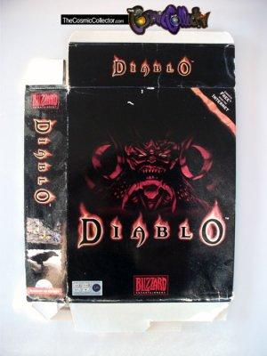 Diablo I (1) Big Box + Manual (No Game) - PC