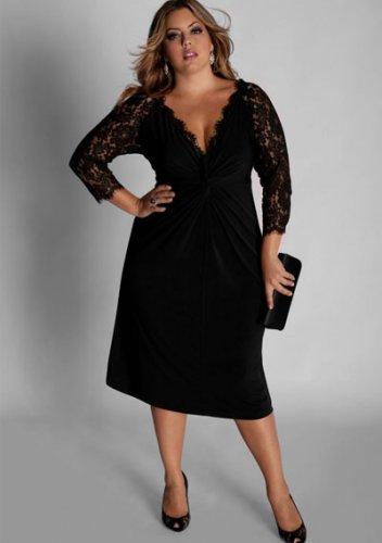 plus size evening dress Venice Dress